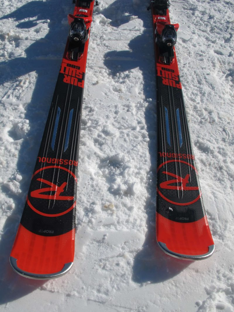 Rossignol Pursuit 600 Cam Test 4 Outside