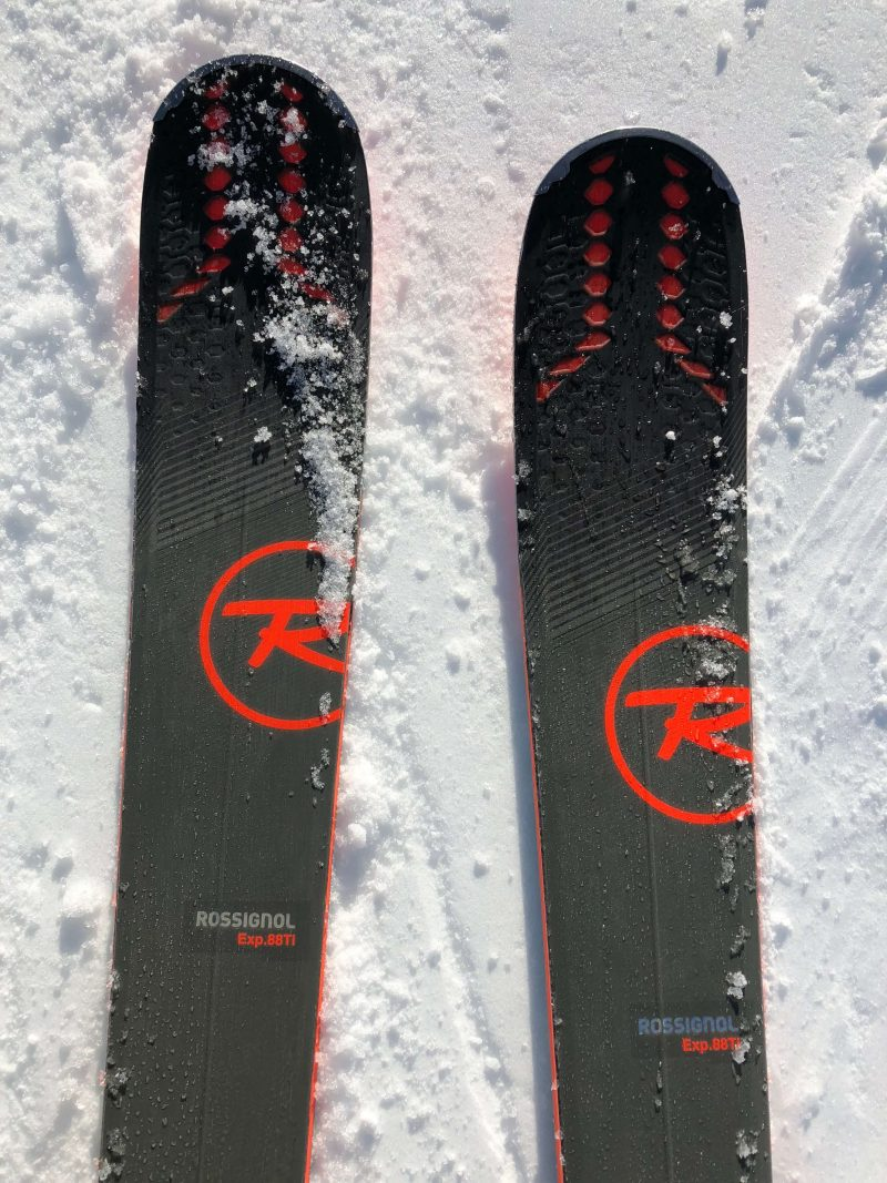 Rossignol Experience 88 Ti - Test 4 Outside