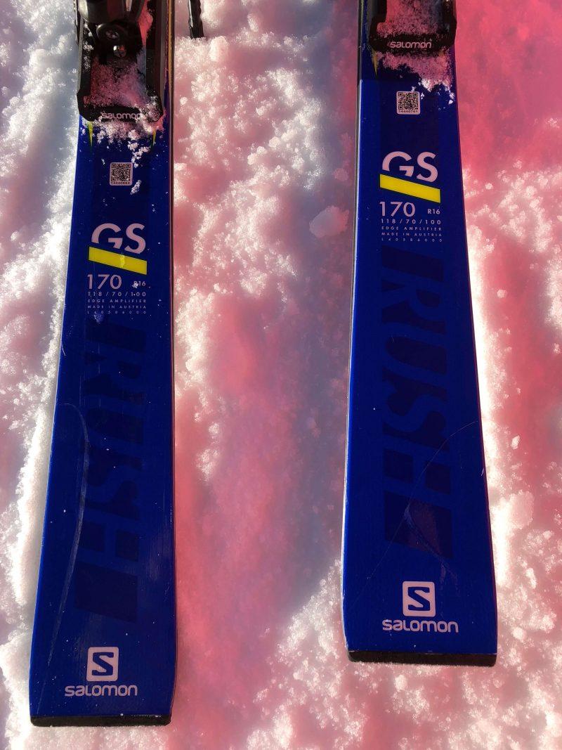 Salomon SRace GS Rush Test 4 Outside