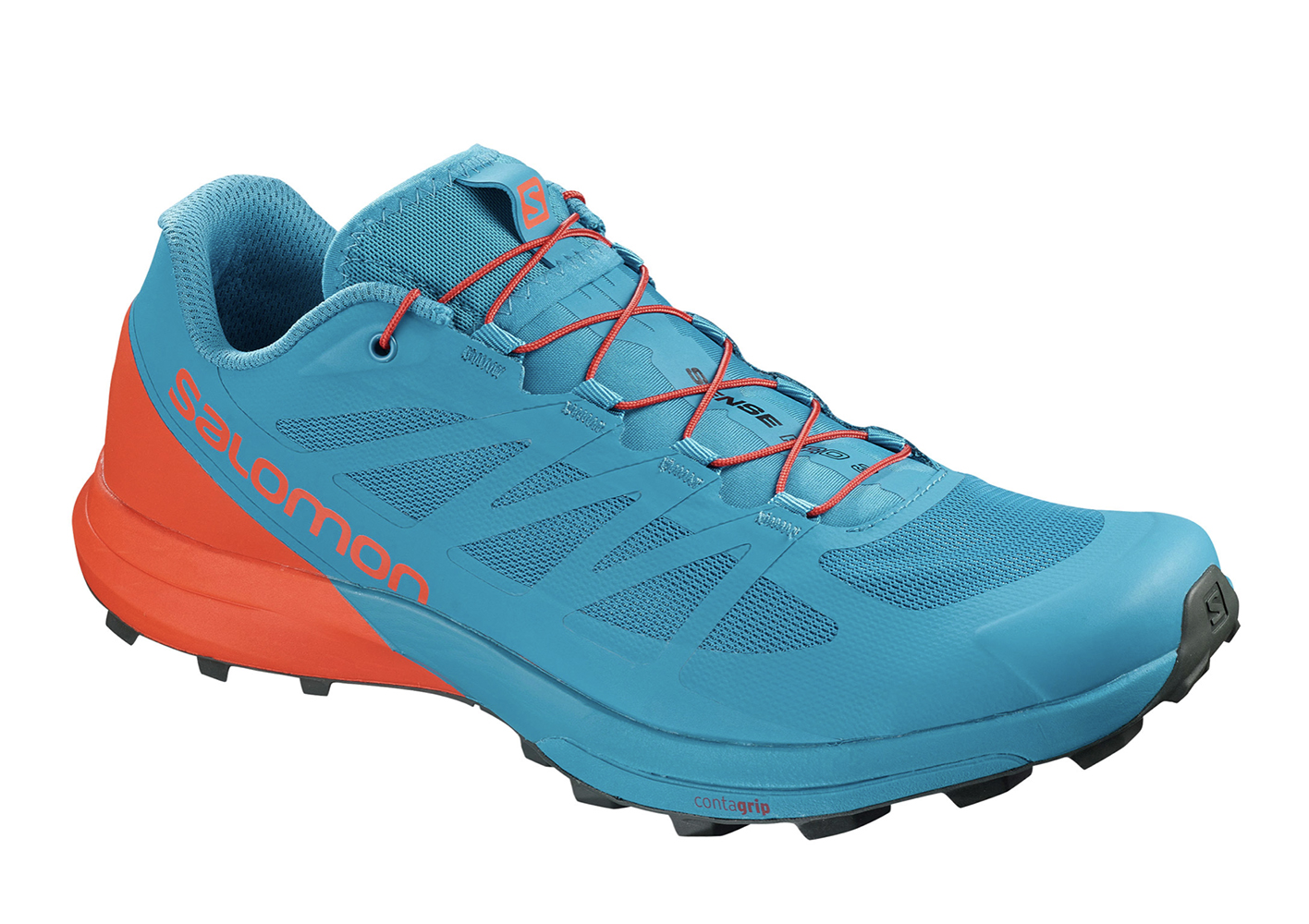 Salomon Mens Sense Pro 3 Trail Running Shoes Trainers Sneakers Black Sports